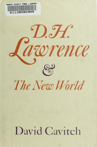 Download D. H. Lawrence and the New World.