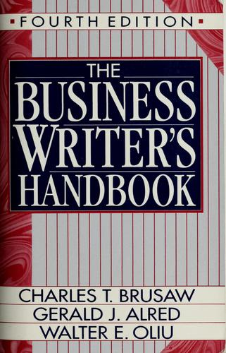 Download The business writer's handbook