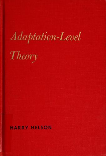 Adaptation-level theory