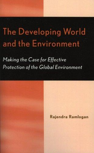 Download The Developing World and the Environment