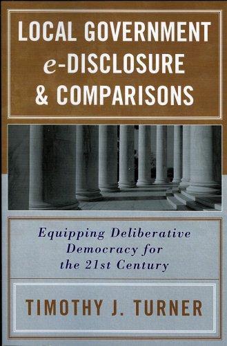Download Local Government e-Disclosure & Comparisons