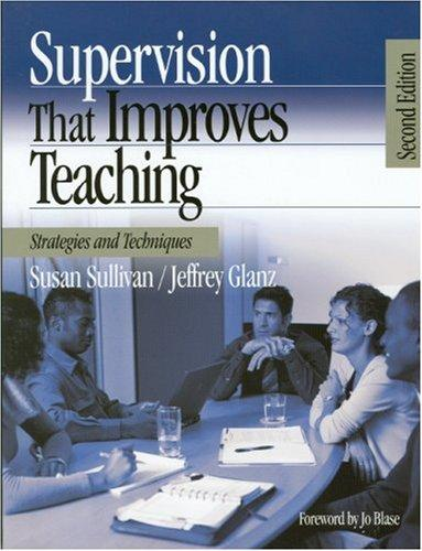 Download Supervision That Improves Teaching
