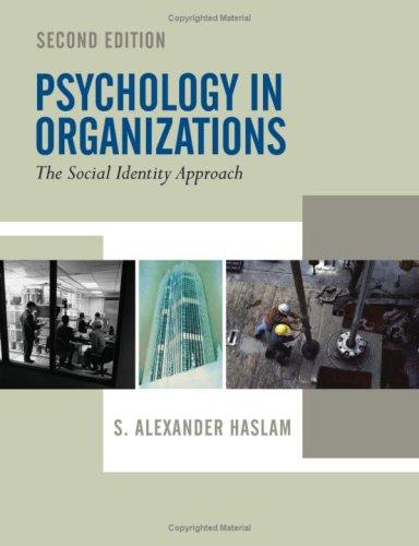 Download Psychology in Organizations