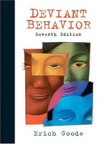 Deviant Behavior (7th Edition)