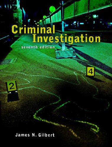 Criminal Investigation (7th Edition)