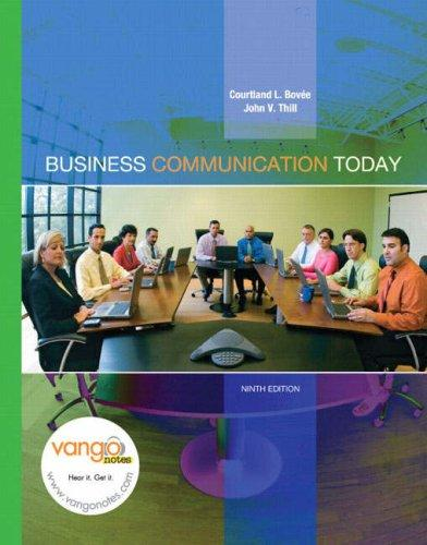 Business Communication Today (9th Edition) (Business Communication Today)