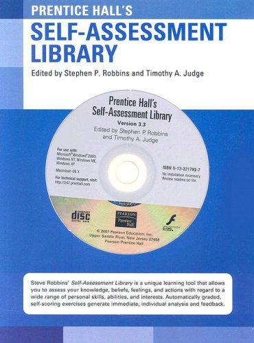 Download Self-Assessment Library (CD-ROM) (12th Edition)