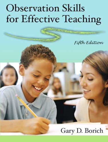 Download Observation Skills for Effective Teaching (5th Edition)