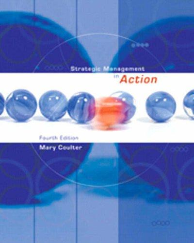 Strategic Management in Action (4th Edition)