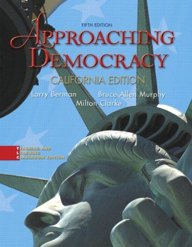 Download Approaching Democracy, California Edition (5th Edition)
