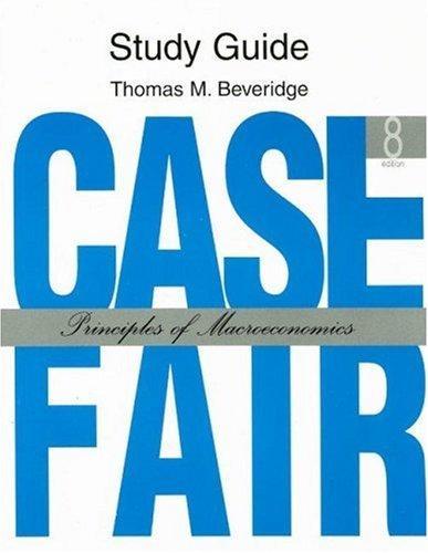 Study Guide: Case Fair