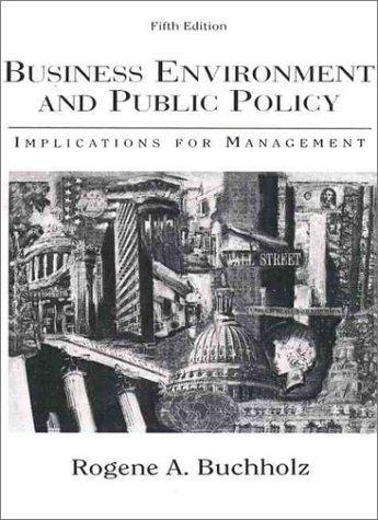 Download Business Environment and Public Policy