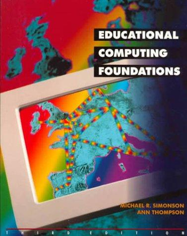 Download Educational computing foundations