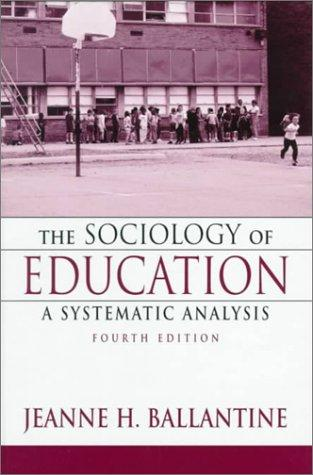 Download The sociology of education