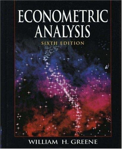 Download Econometric Analysis