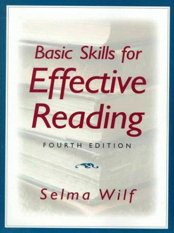 Download Basic skills for effective reading