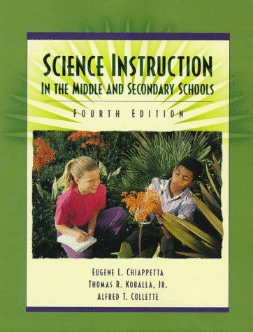 Science instruction in the middle and secondary schools.