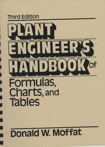 Plant engineer's handbook of formulas, charts, and tables
