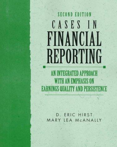 Download Cases in financial reporting
