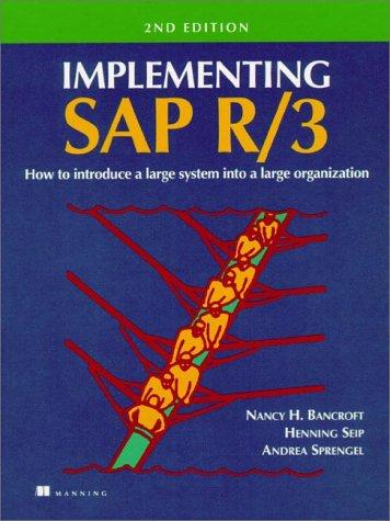 Download Implementing SAP R/3