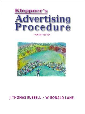 Download Kleppner's advertising procedure