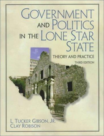 Download Government and politics in the Lone Star State