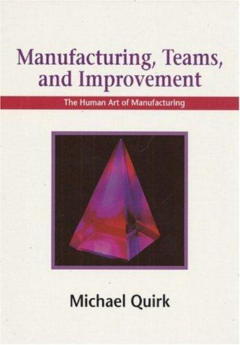 Download Manufacturing, teams, and improvement