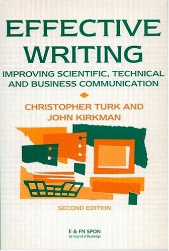 Download Effective writing