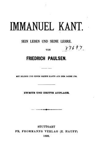 Download Immanuel Kant.