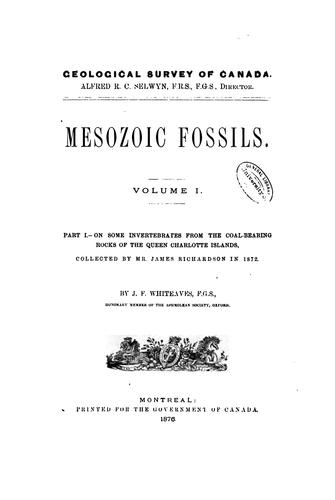 Download Mesozoic fossils.