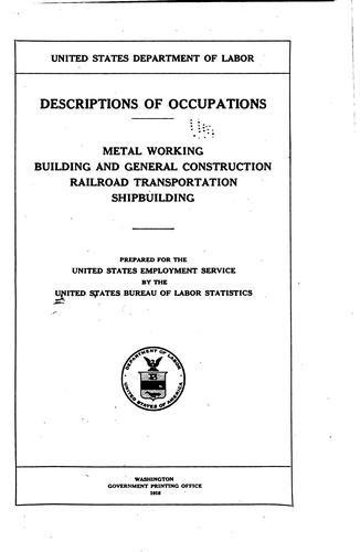 Download Descriptions of occupations.