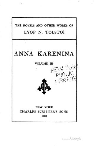 Download The novels and other works of Lyof N. Tolstoï …