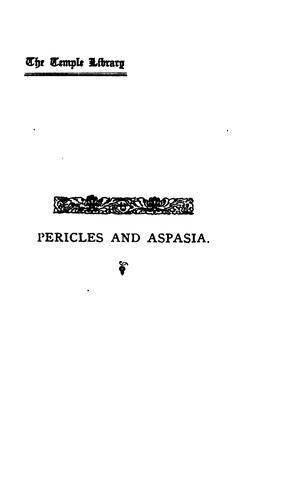 Pericles & Aspasia