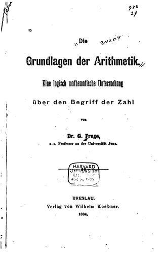 Download Die Grundlagen der Arithmetik