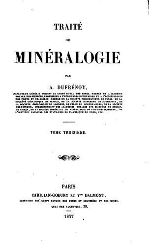 Download Traité de minéralogie