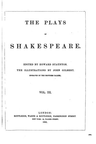 The plays of Shakespeare by William Shakespeare