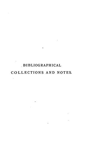 Download Collections and notes, 1867-1876.