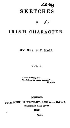 Download Sketches of Irish character