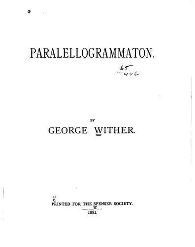 Paralellogrammaton.