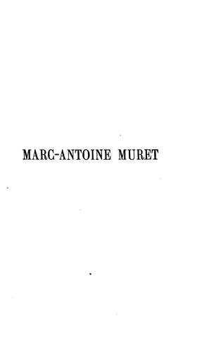 Marc-Antoine Muret