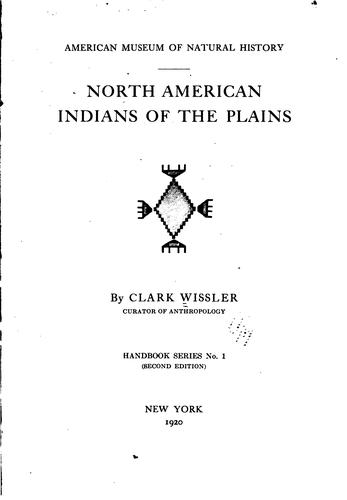 Download North American Indians of the Plains.