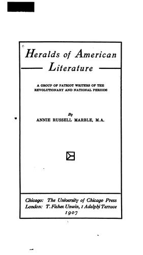 Download Heralds of American literature