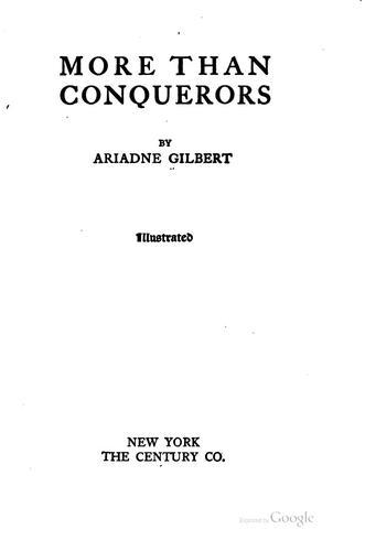 More than conquerors.