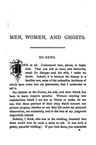 Download Men, women, and ghosts.