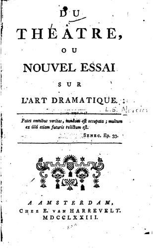 Download Du théâtre