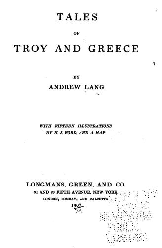 Download Tales of Troy and Greece.