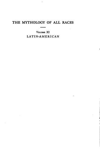 Latin-American mythology