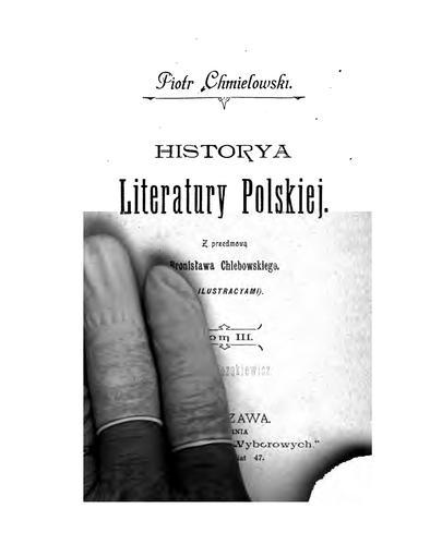 Download Historya literatury polskiej