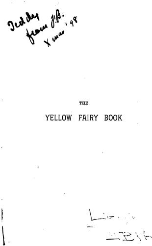 Download The yellow fairy book.