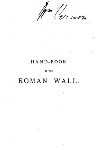 Download Handbook to the Roman Wall